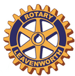 Leavenworth Rotary Club logo